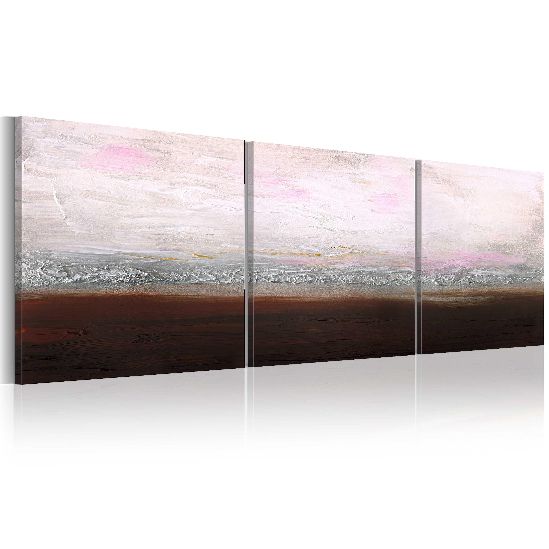 Ručně malovaný obraz - Calm coast 150x50