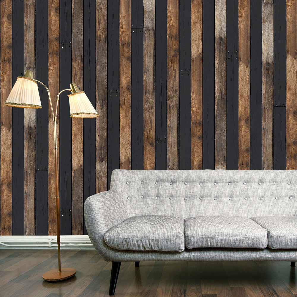 Fototapeta - Wooden duo 50x1000