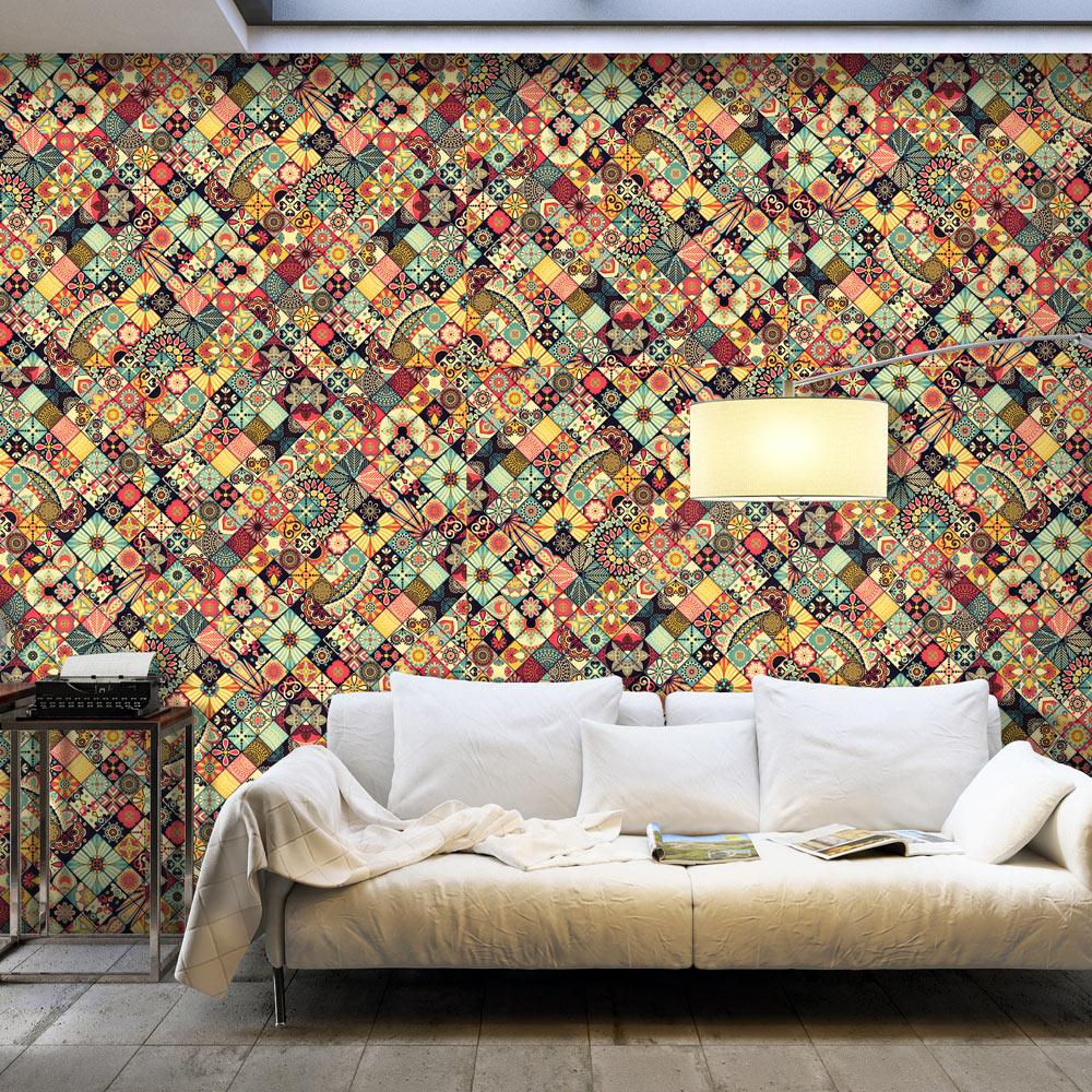 Fototapeta XXL - Rainbow Mosaic 500x280