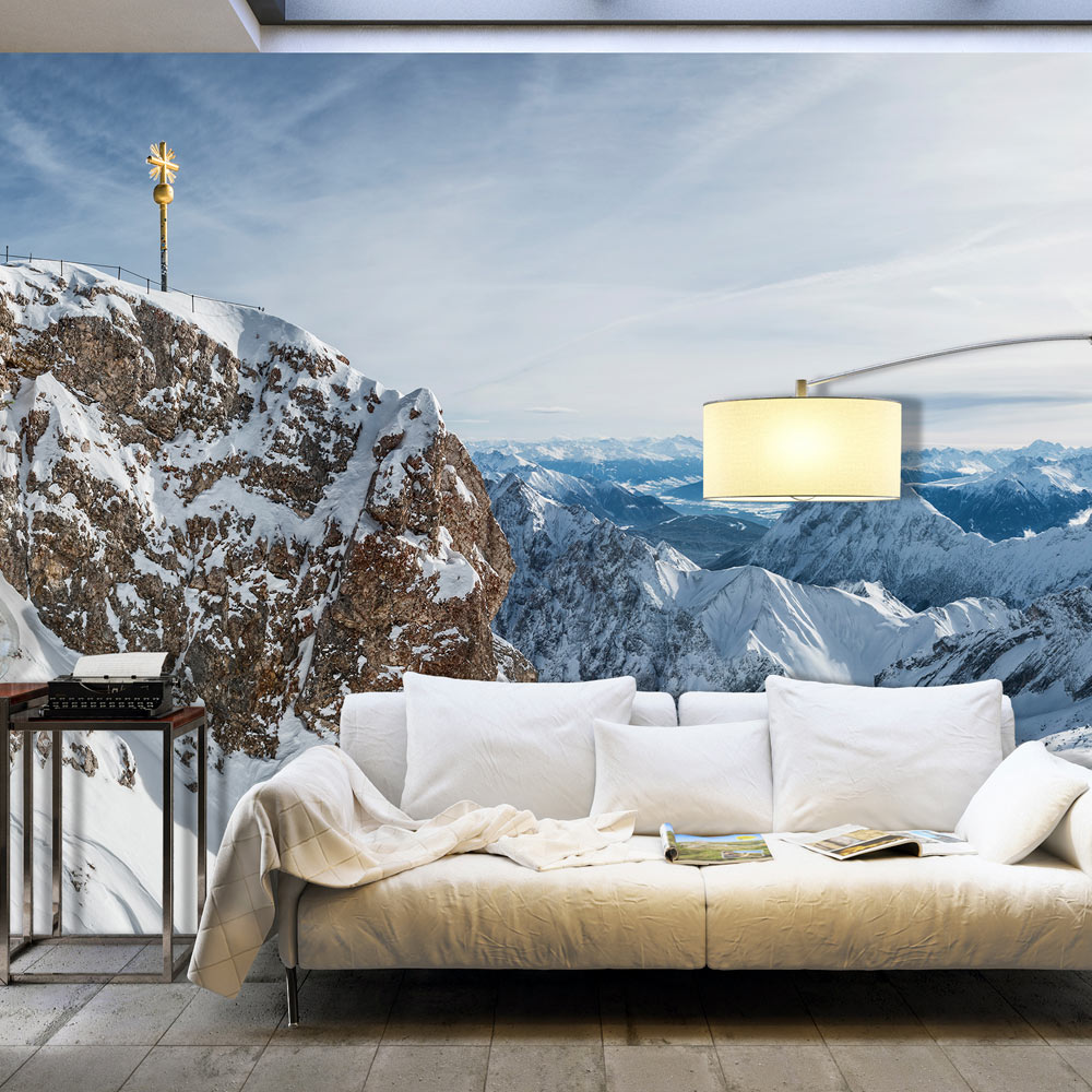 Fototapeta XXL - Winter in Zugspitze 500x280