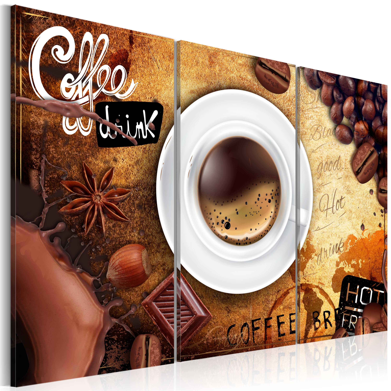 Obraz - Cup of coffee 120x80