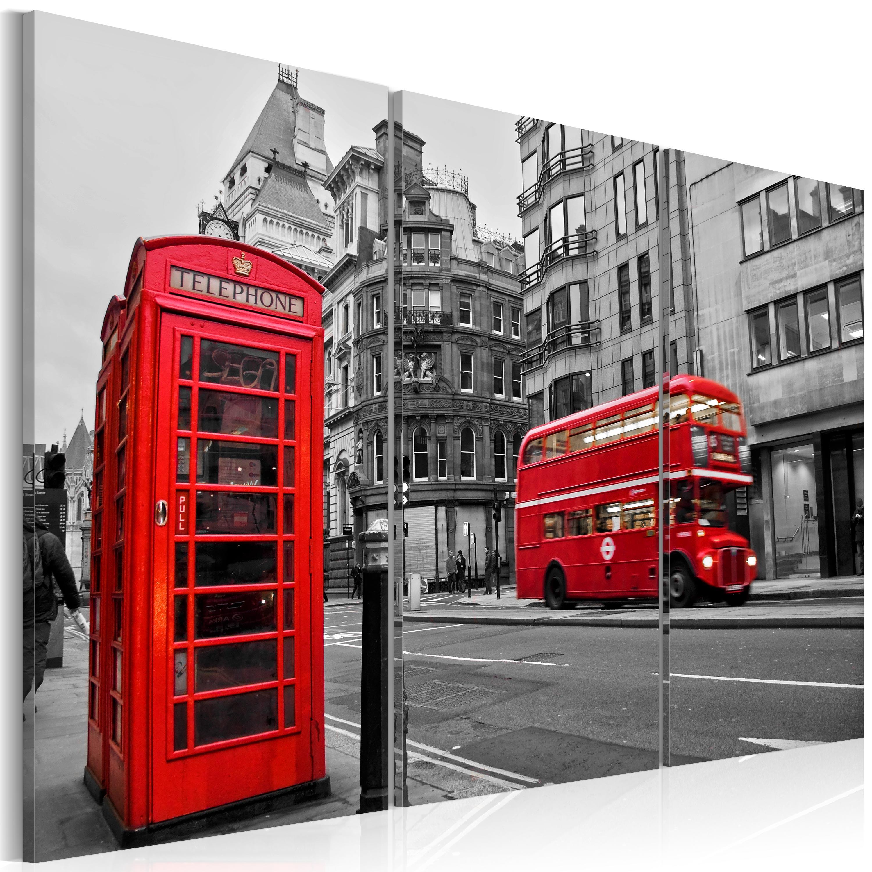 Obraz - Život v londýně 120x80
