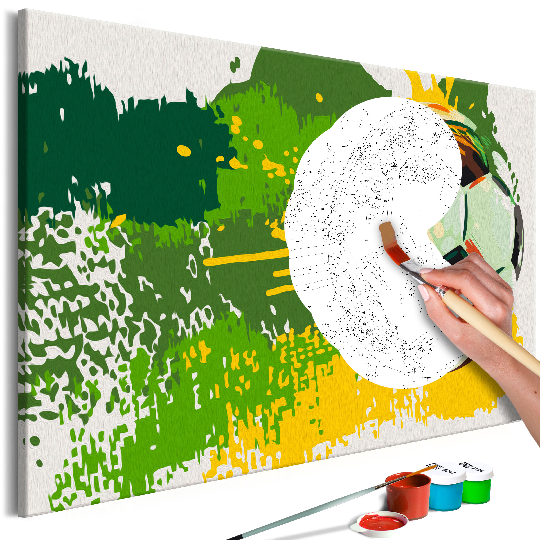 Malování podle čísel - Football Emotions 60x40