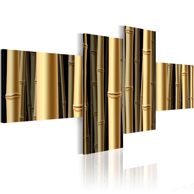Obraz - Bambusová armáda 100x45