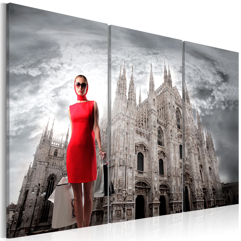 Obraz - Milán - město módy 60x40