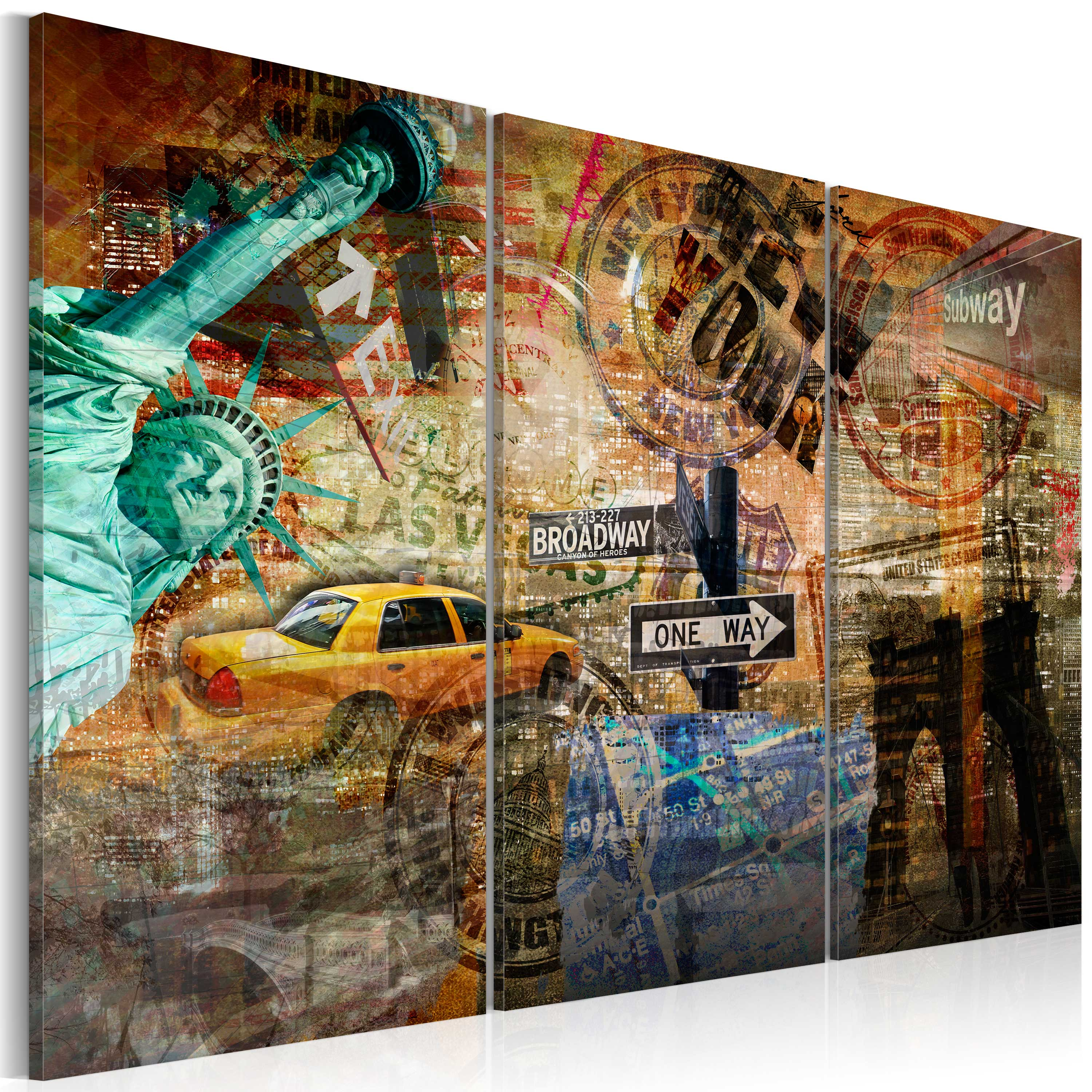Obraz - The essence of NYC 60x40