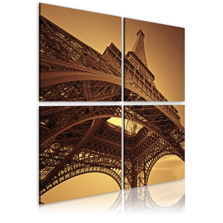 Obraz - Eiffelova věž  - Paříž 80x80