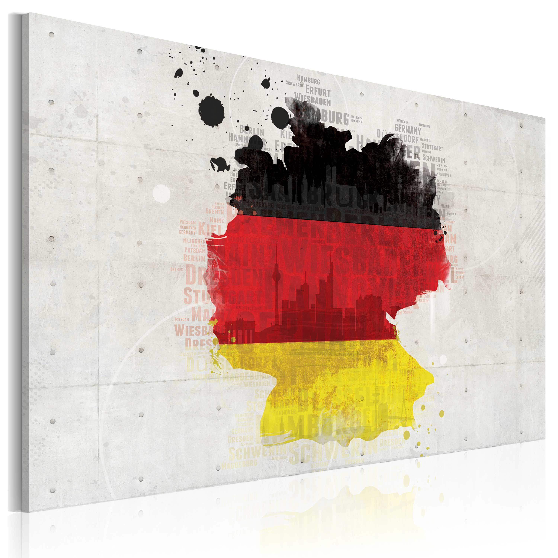 Obraz - Map of Germany 90x60