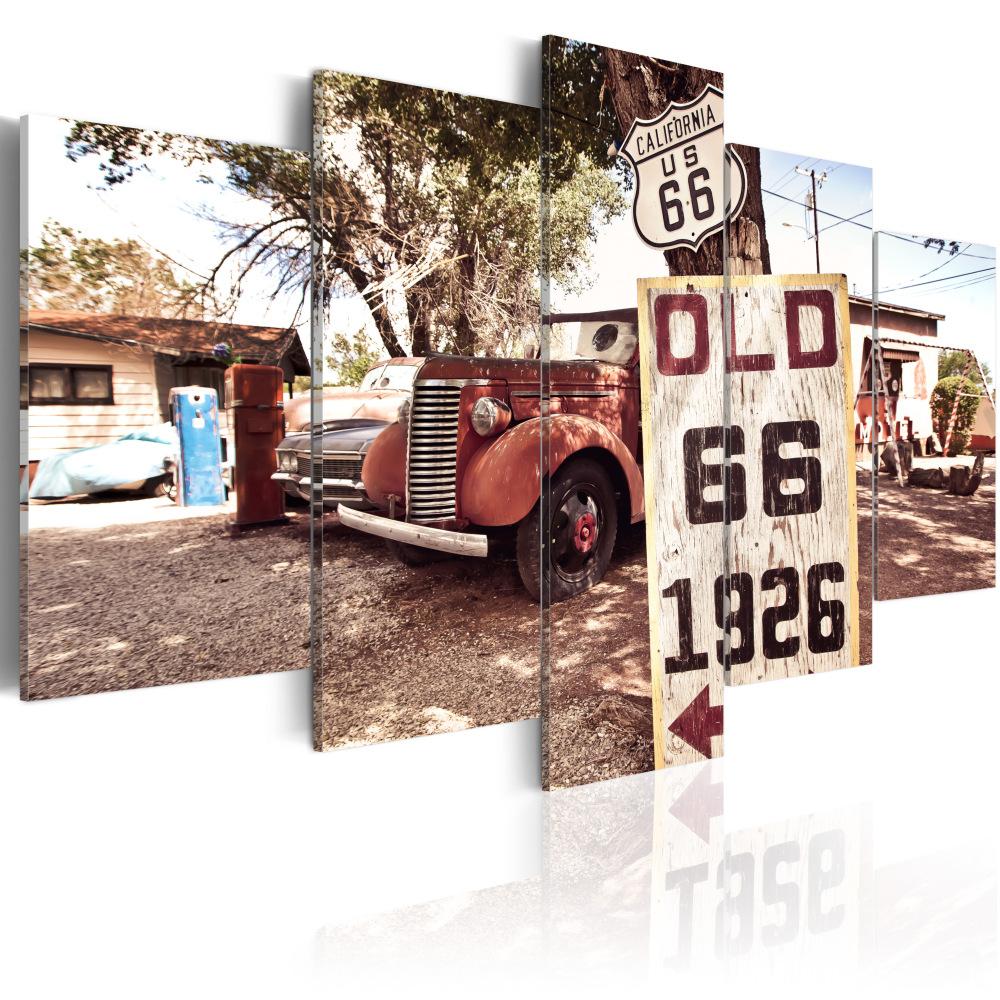 Obraz - California - vintage style 100x50