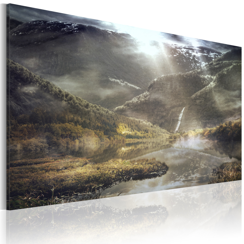 Obraz - The land of mists 90x60