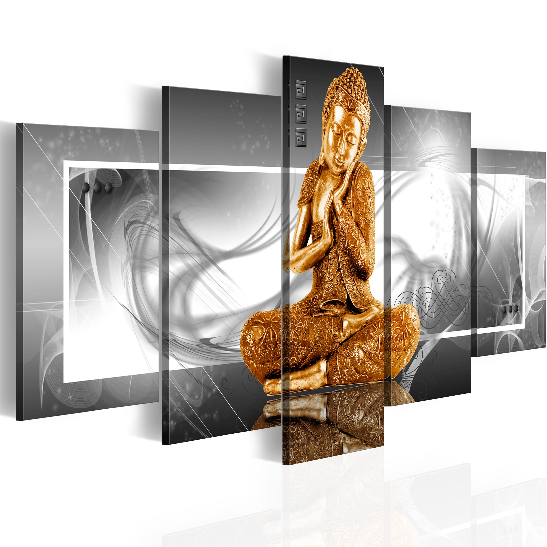 Obraz - Buddhist prayer 100x50