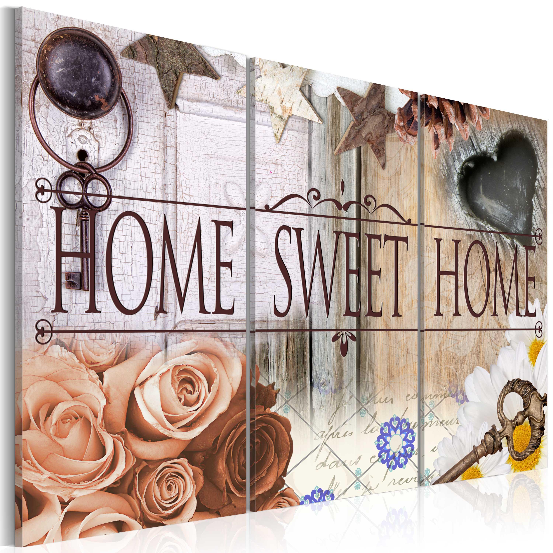 Obraz - Home in vintage style 120x80