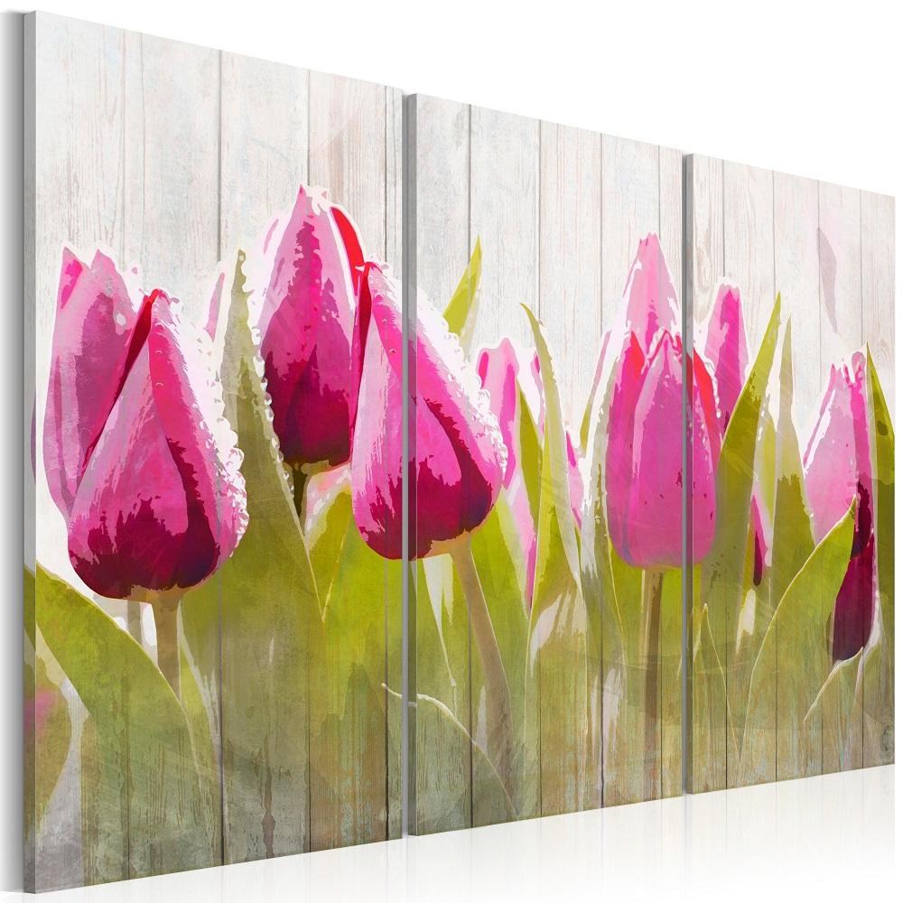 Obraz - Spring bouquet of tulips 60x40