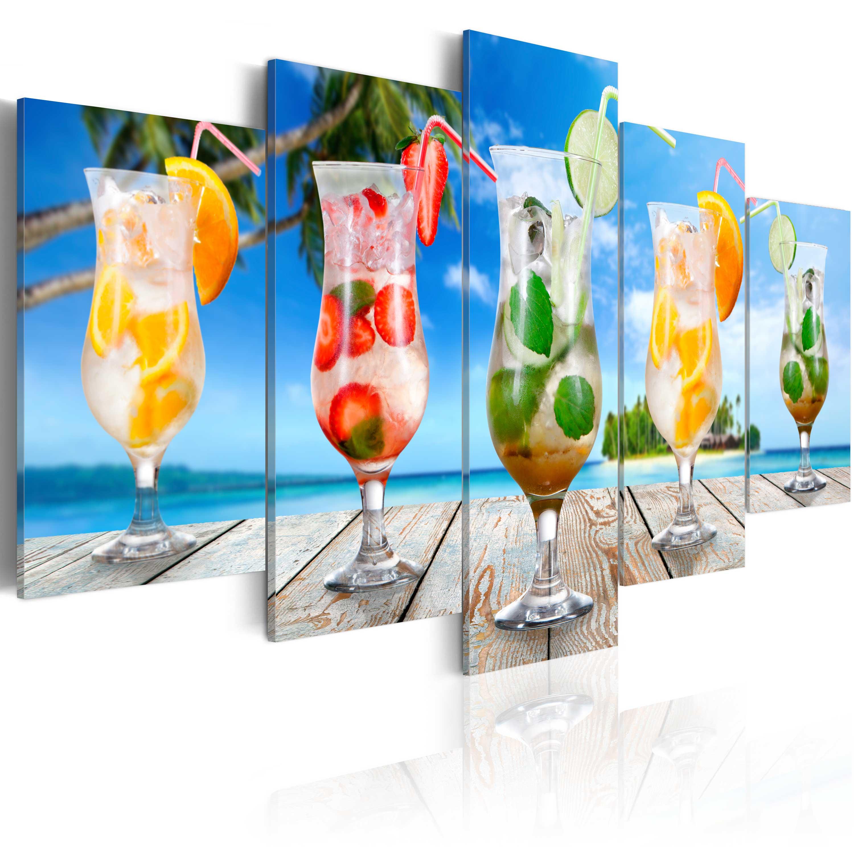 Obraz - Summer drinks 200x100