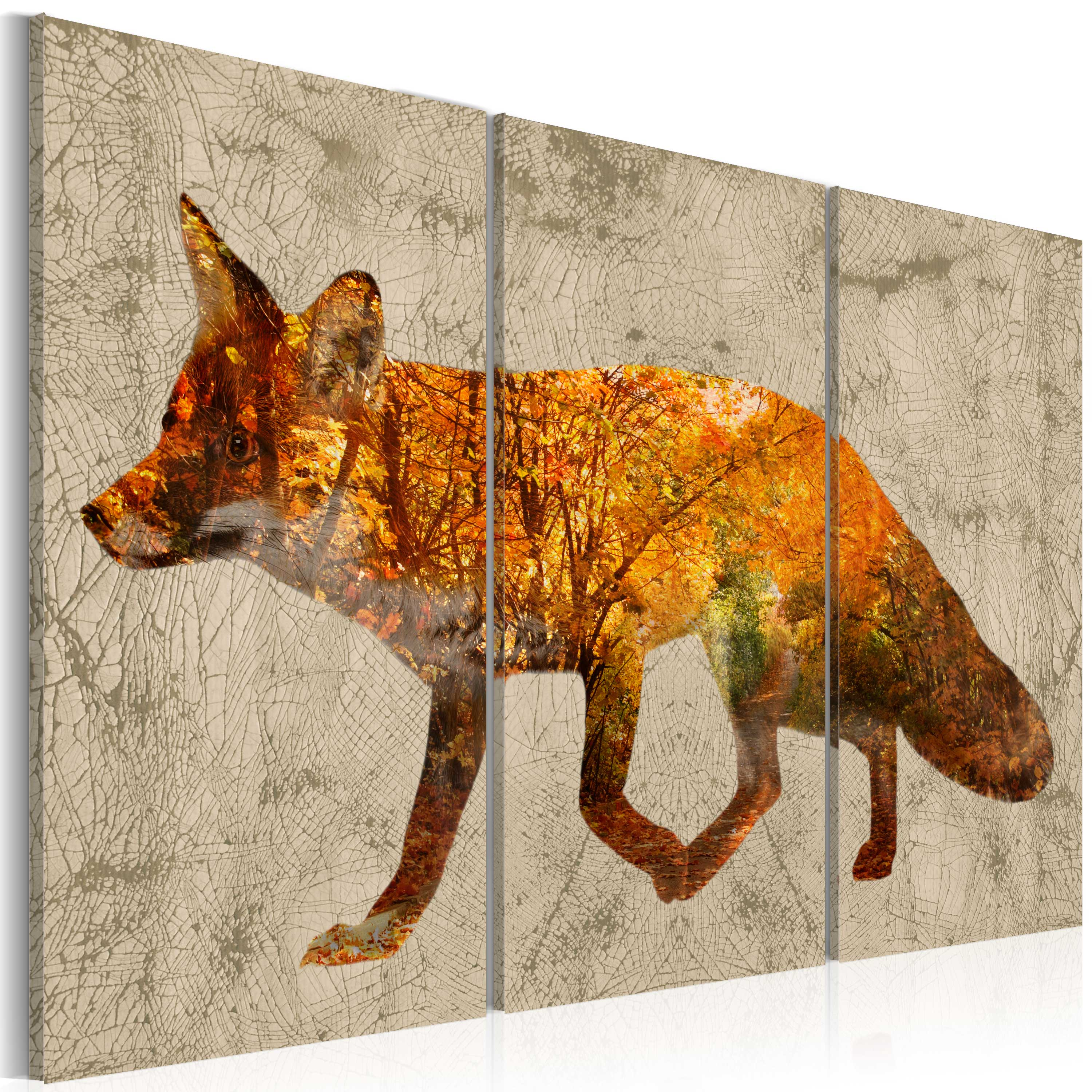 Obraz - Fox in The Wood 120x80
