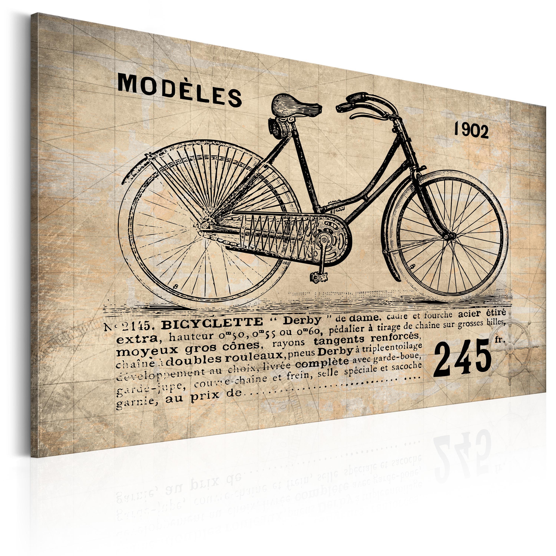 Obraz - N° 1245 - Bicyclette 60x40