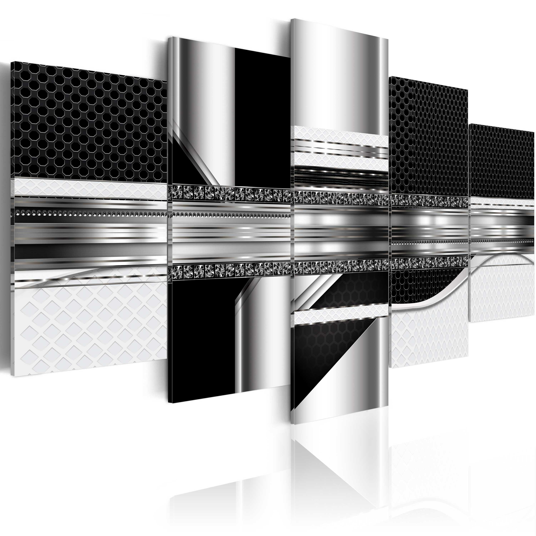Obraz - Silver Cut 100x50