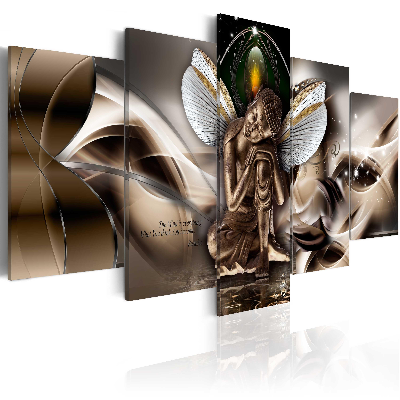 Obraz - Winged Buddha 100x50