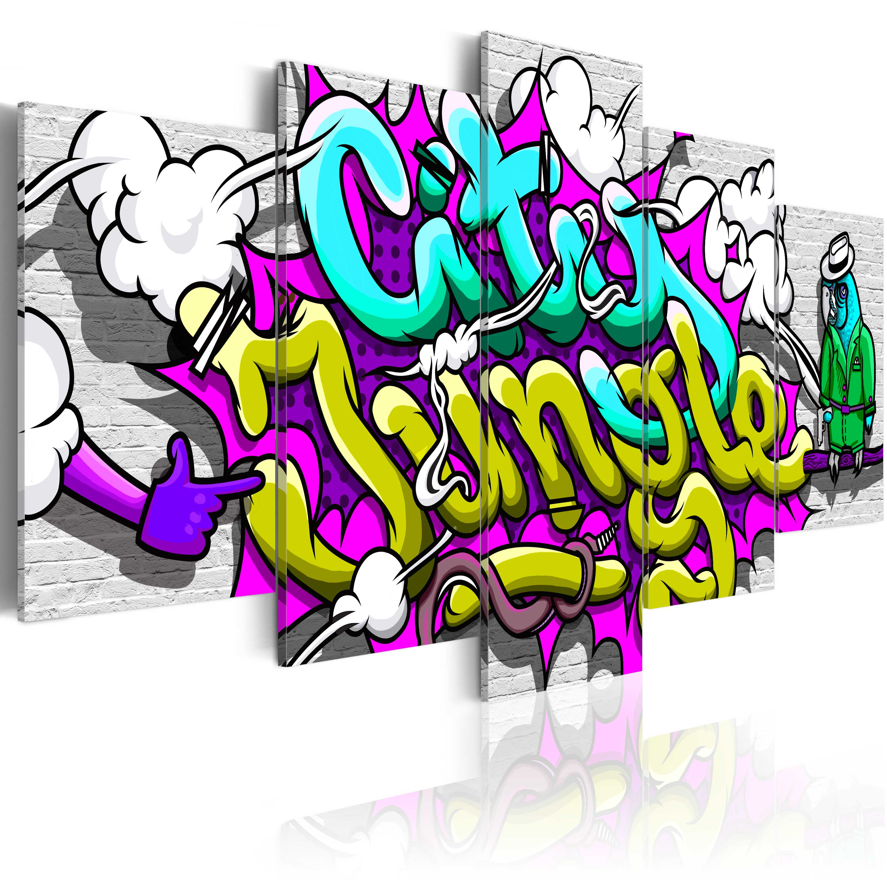 Obraz - City Jungle 100x50