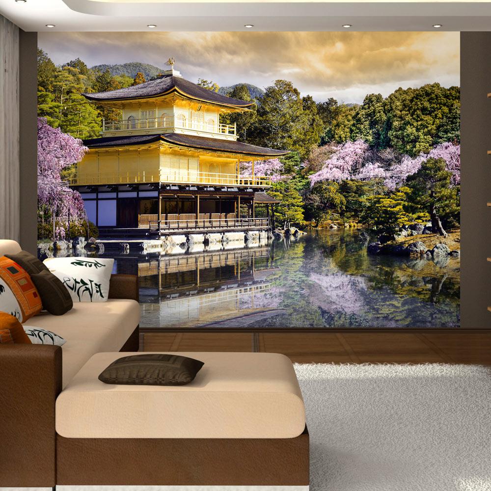 Fototapeta - Japanese landscape 100x70