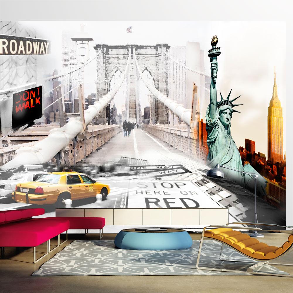Fototapeta - New York streets 150x105
