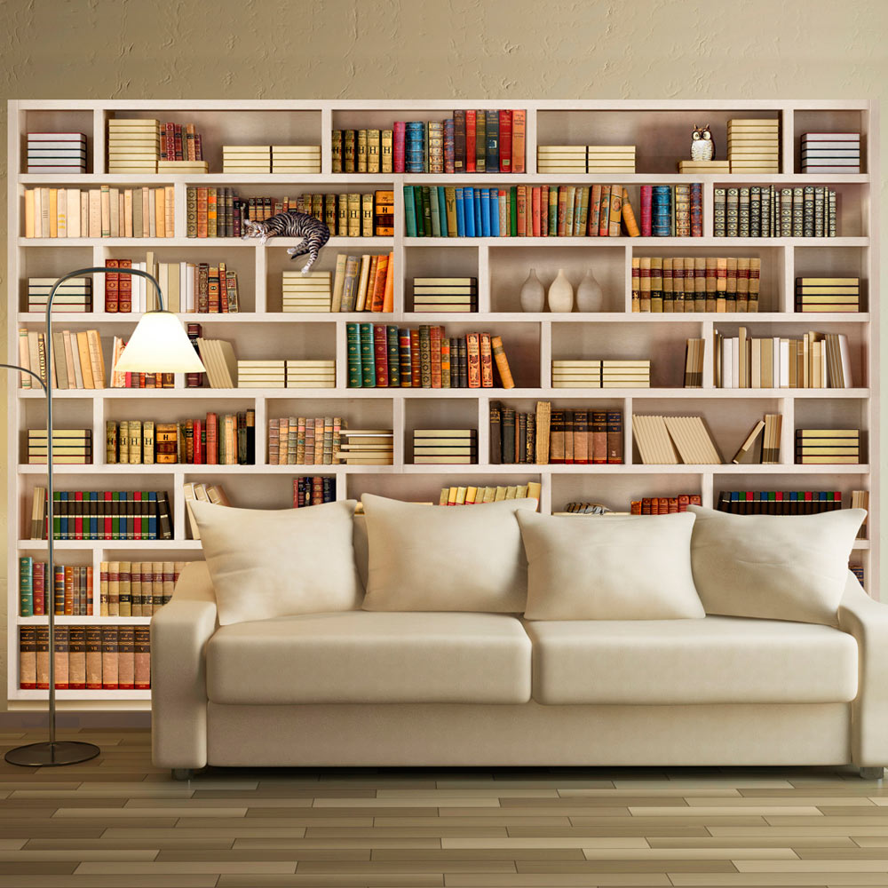 Fototapeta - Home library 350x245
