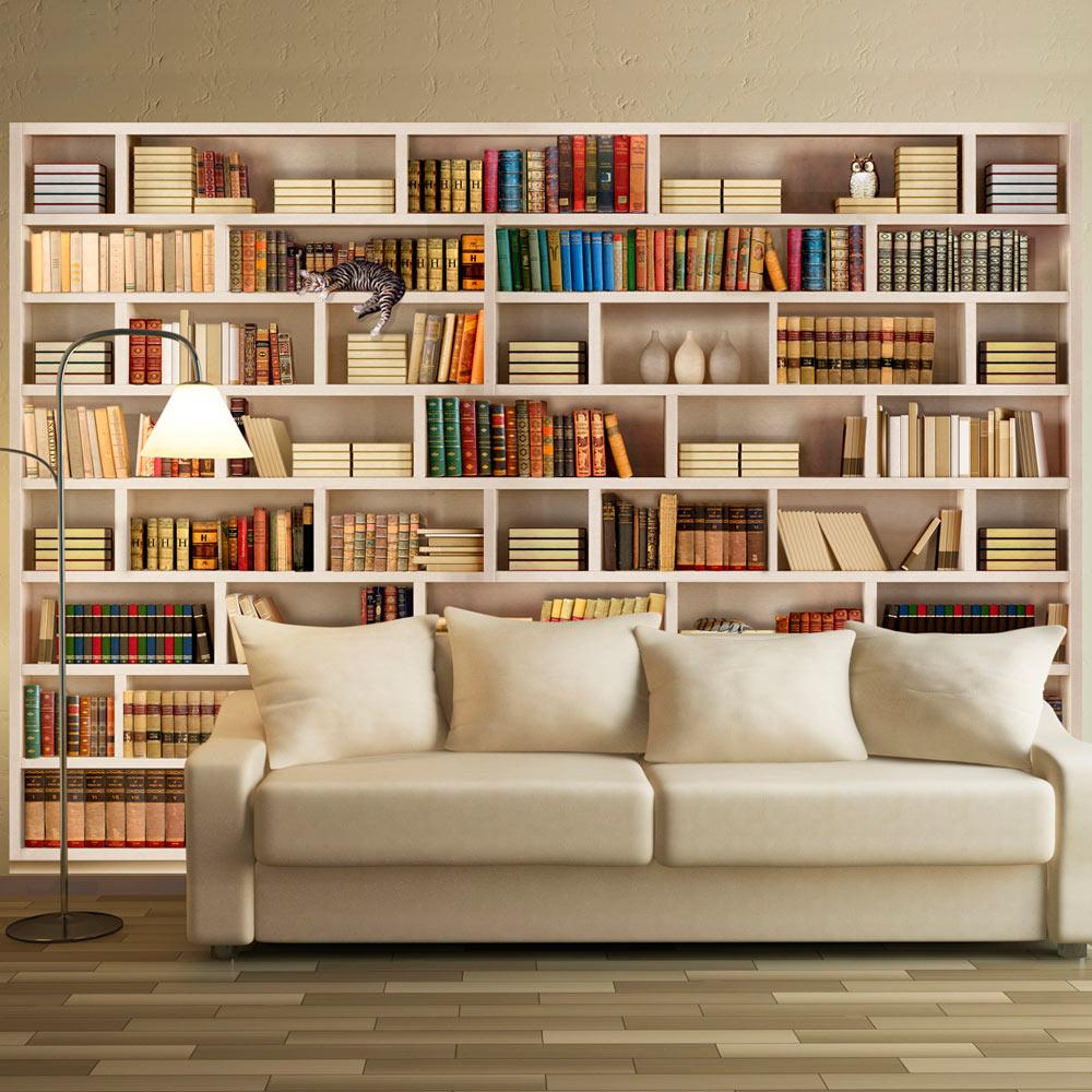 Fototapeta - Home library 100x70
