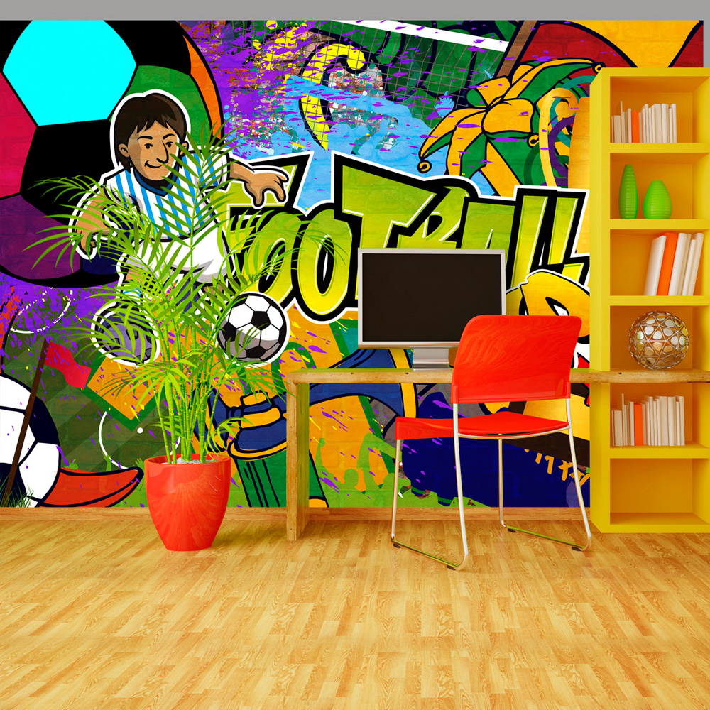 Fototapeta - Football Cup 350x245