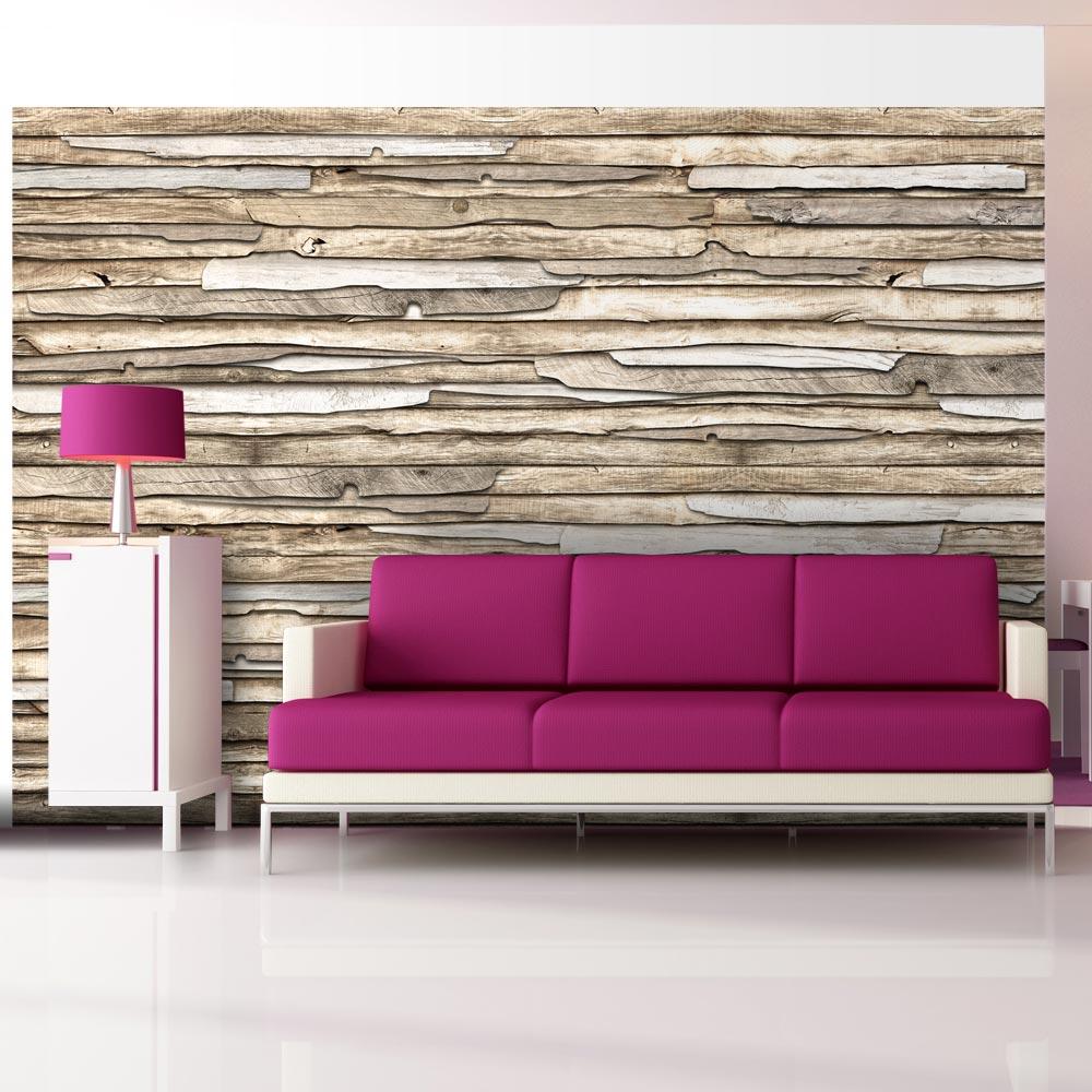 Fototapeta - Wooden puzzle 100x70