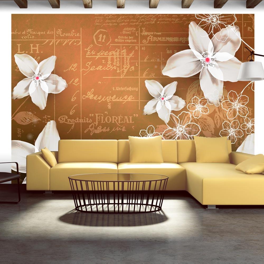Fototapeta - Floral notes 200x140