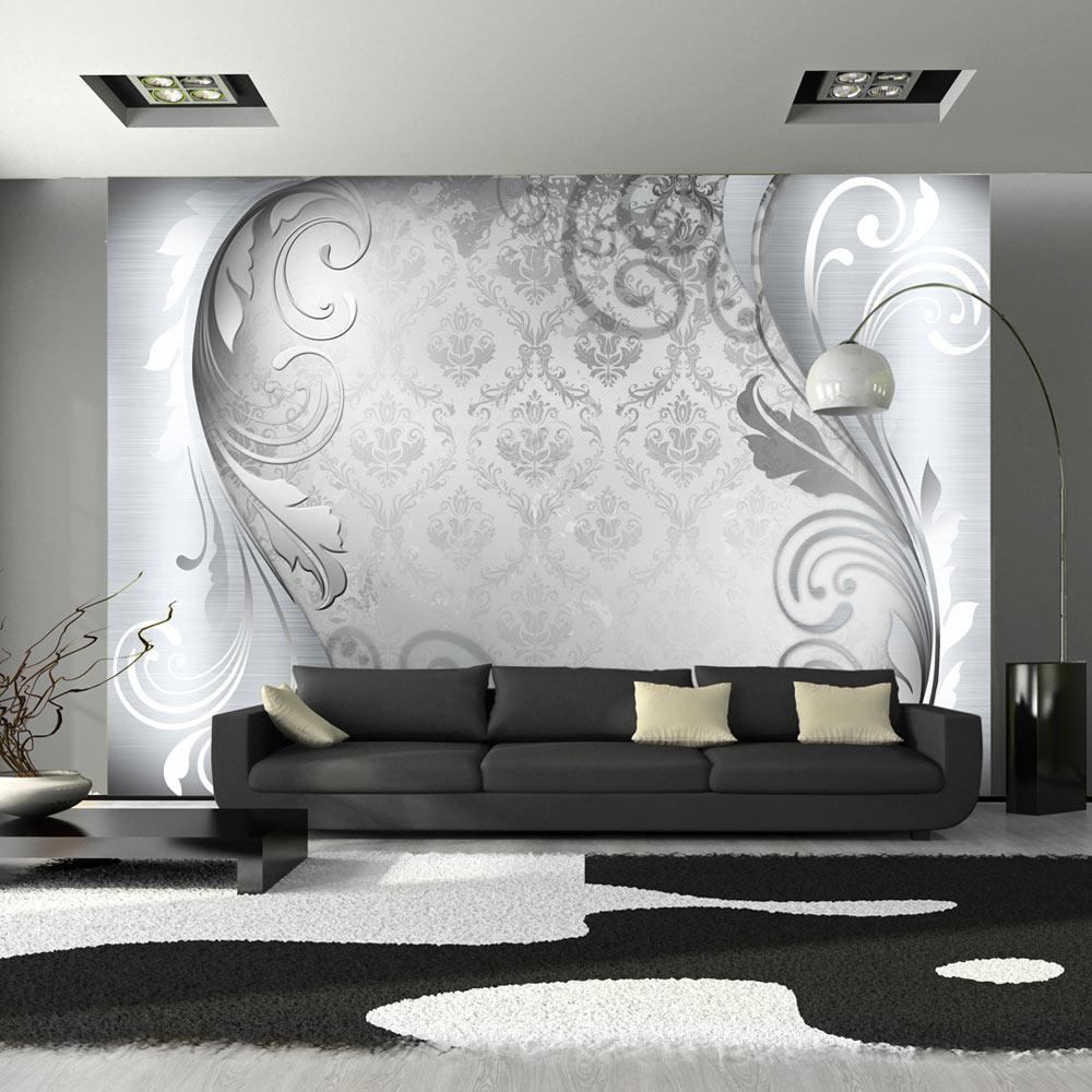 Fototapeta - Gray ornament 400x280