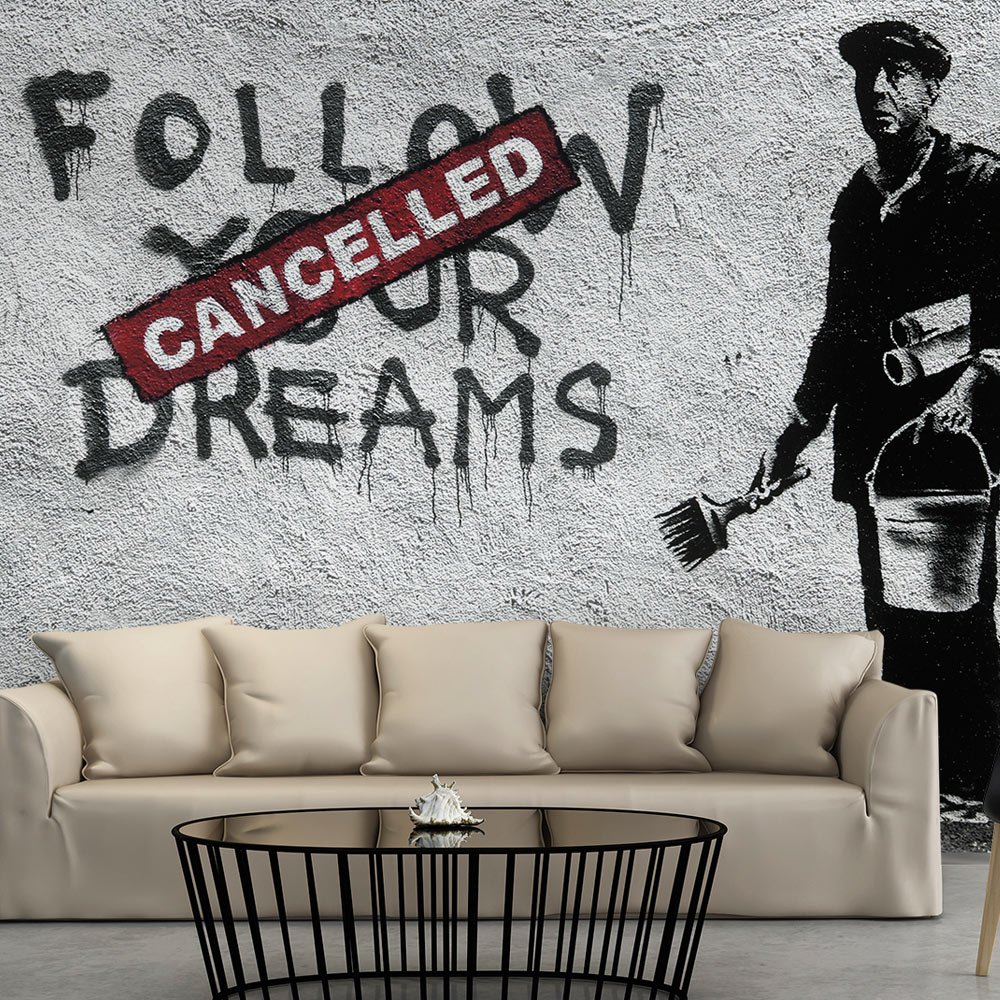 Fototapeta - Dreams Cancelled (Banksy) 200x140