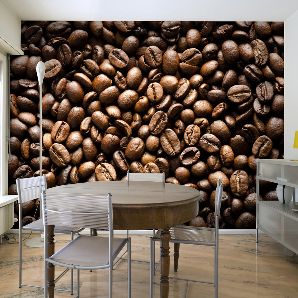 Fototapeta - Roasted coffee beans 350x270