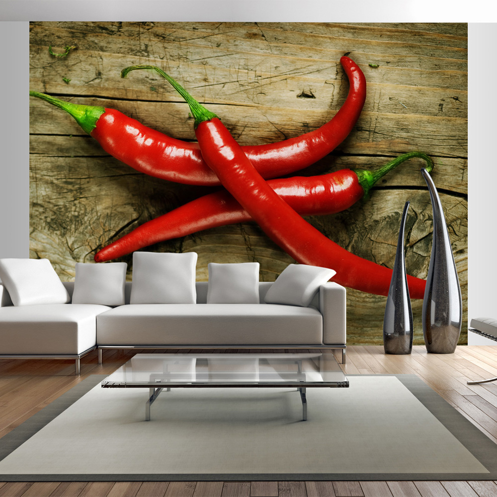 Fototapeta - Spicy chili peppers 300x231