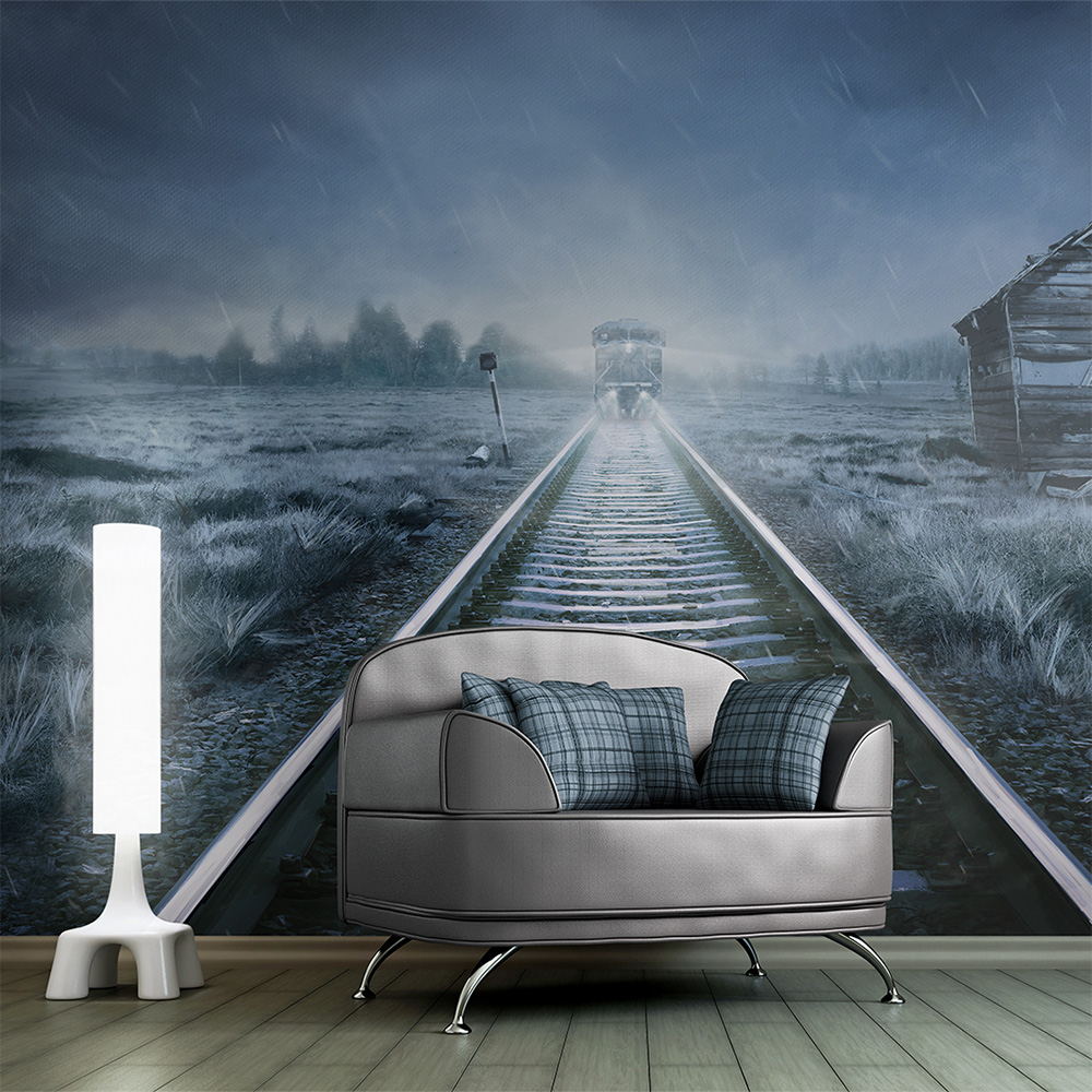 Fototapeta - The ghost train 400x309