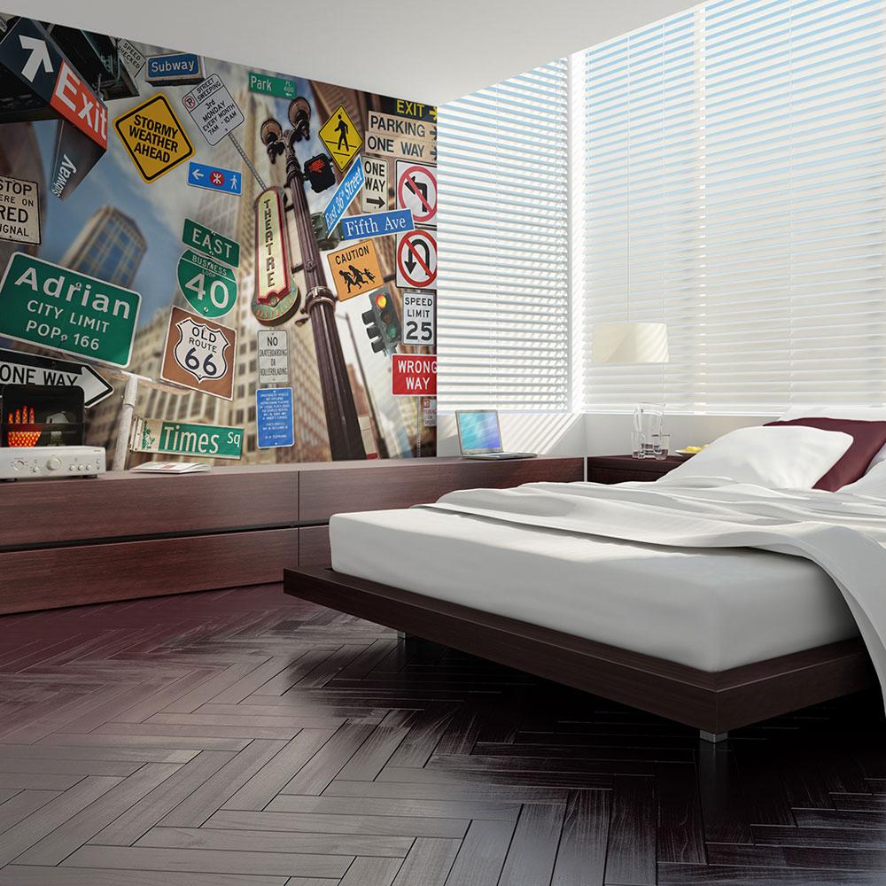 Fototapeta - New York signposts 200x154