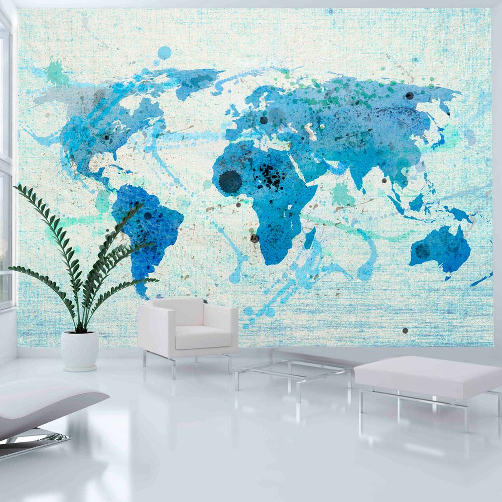 Fototapeta - Cruising and sailing -  The World map 300x231