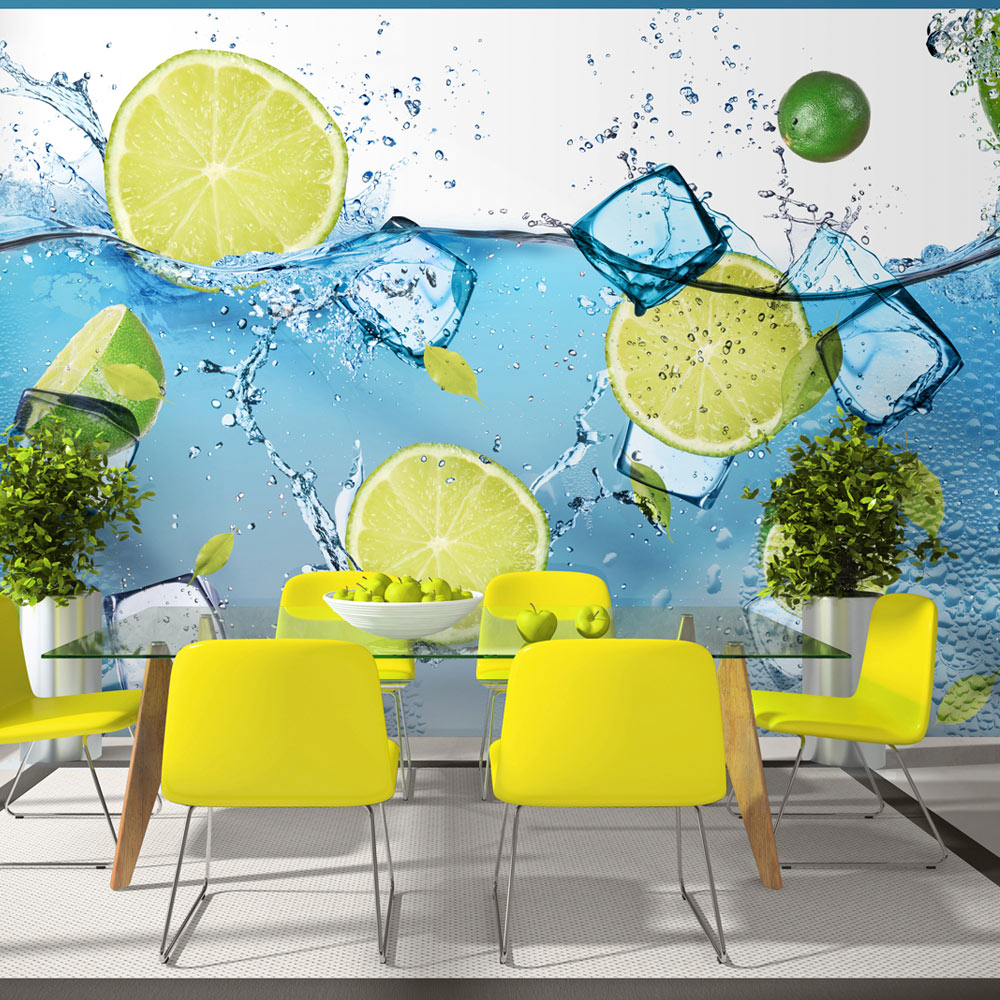 Fototapeta - Refreshing lemonade 100x70