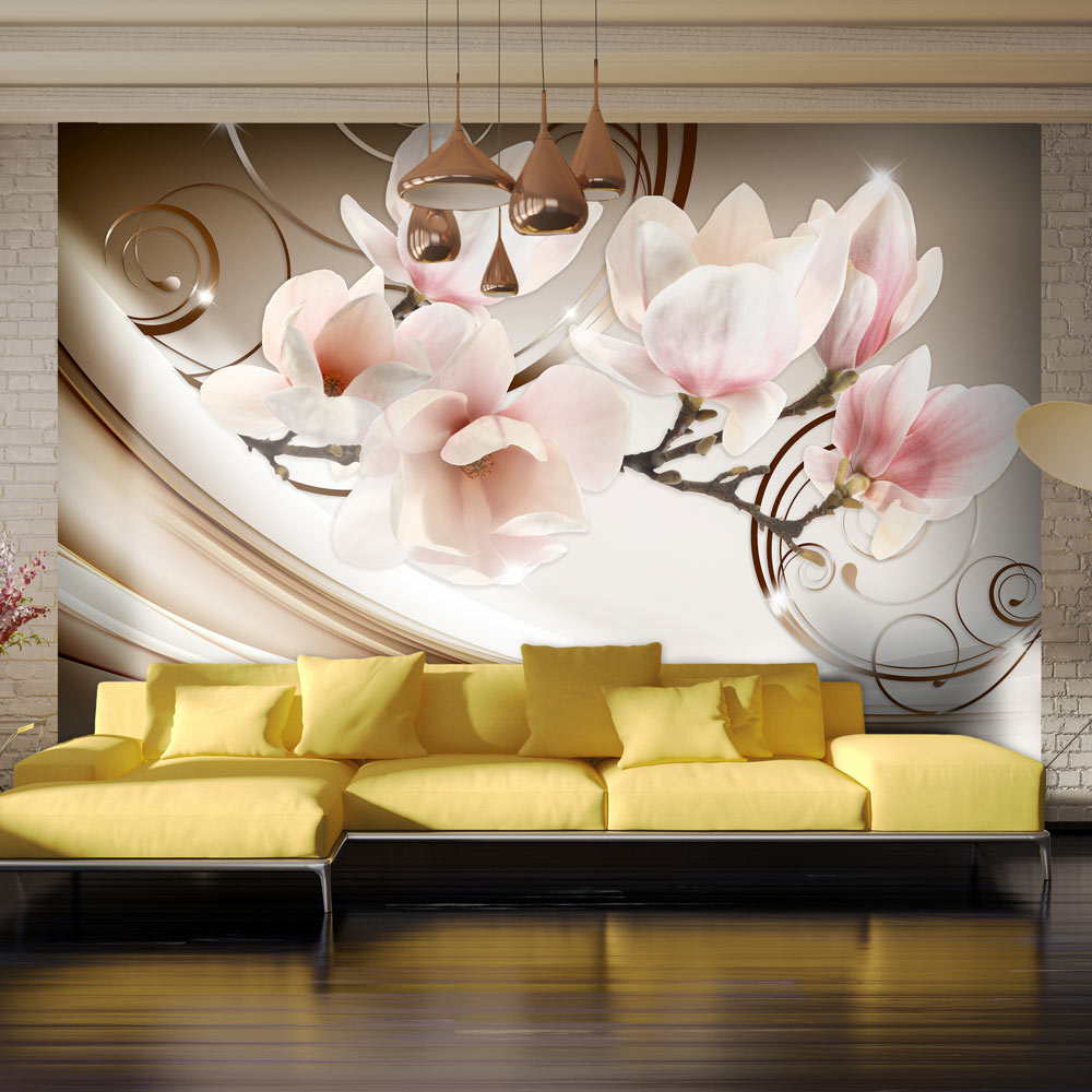 Fototapeta - Waves of Magnolia 100x70