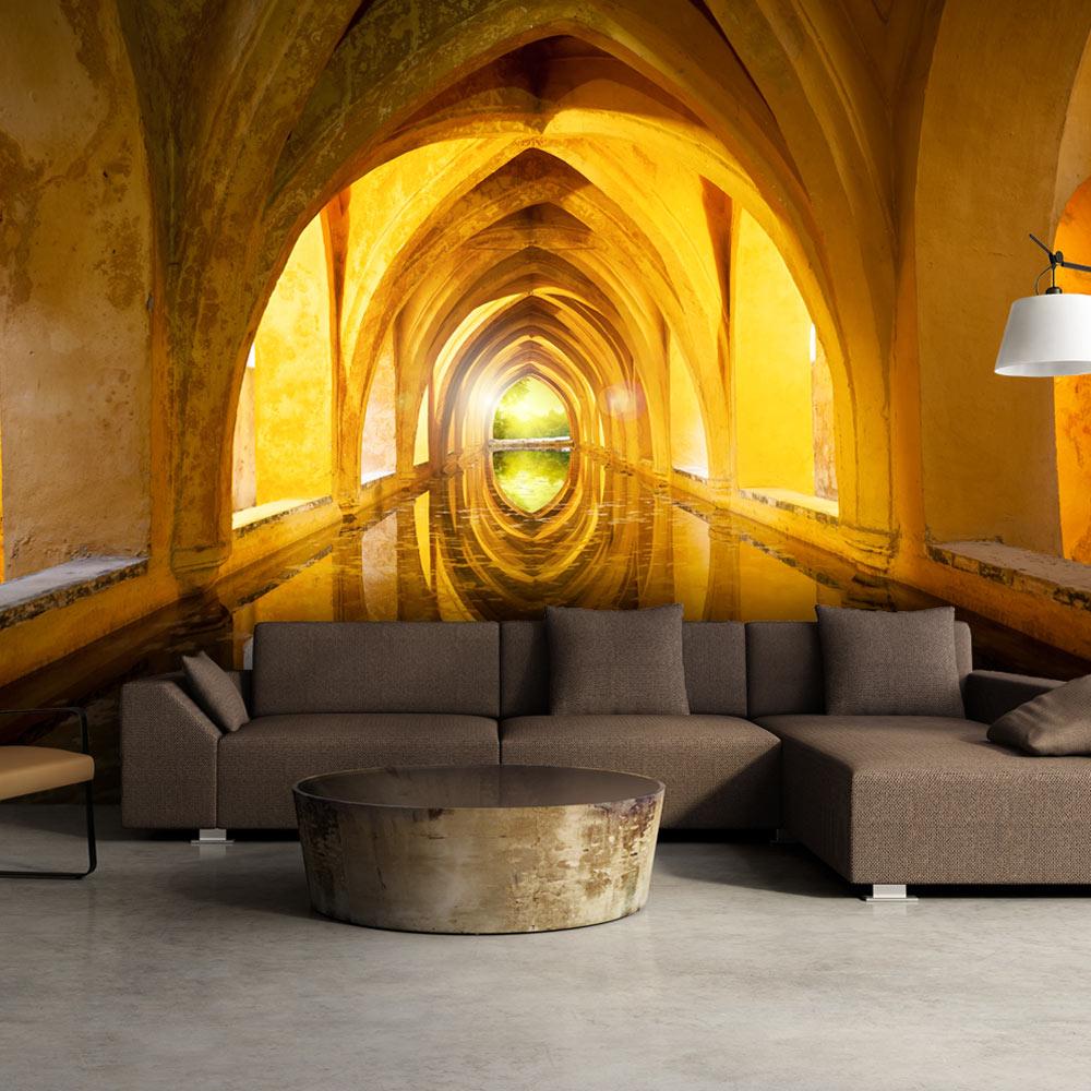 Fototapeta - The Golden Corridor 400x280