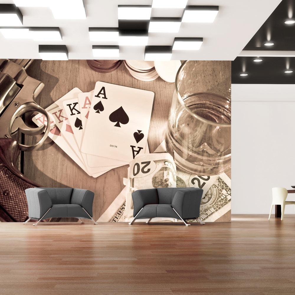 Fototapeta - Cards 100x70