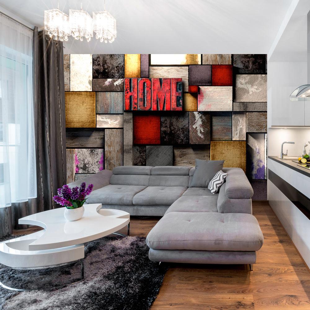 Fototapeta - Colorful Home 100x70