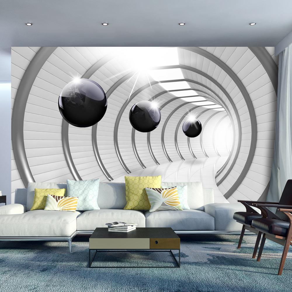 Fototapeta - Futuristic Tunnel 100x70