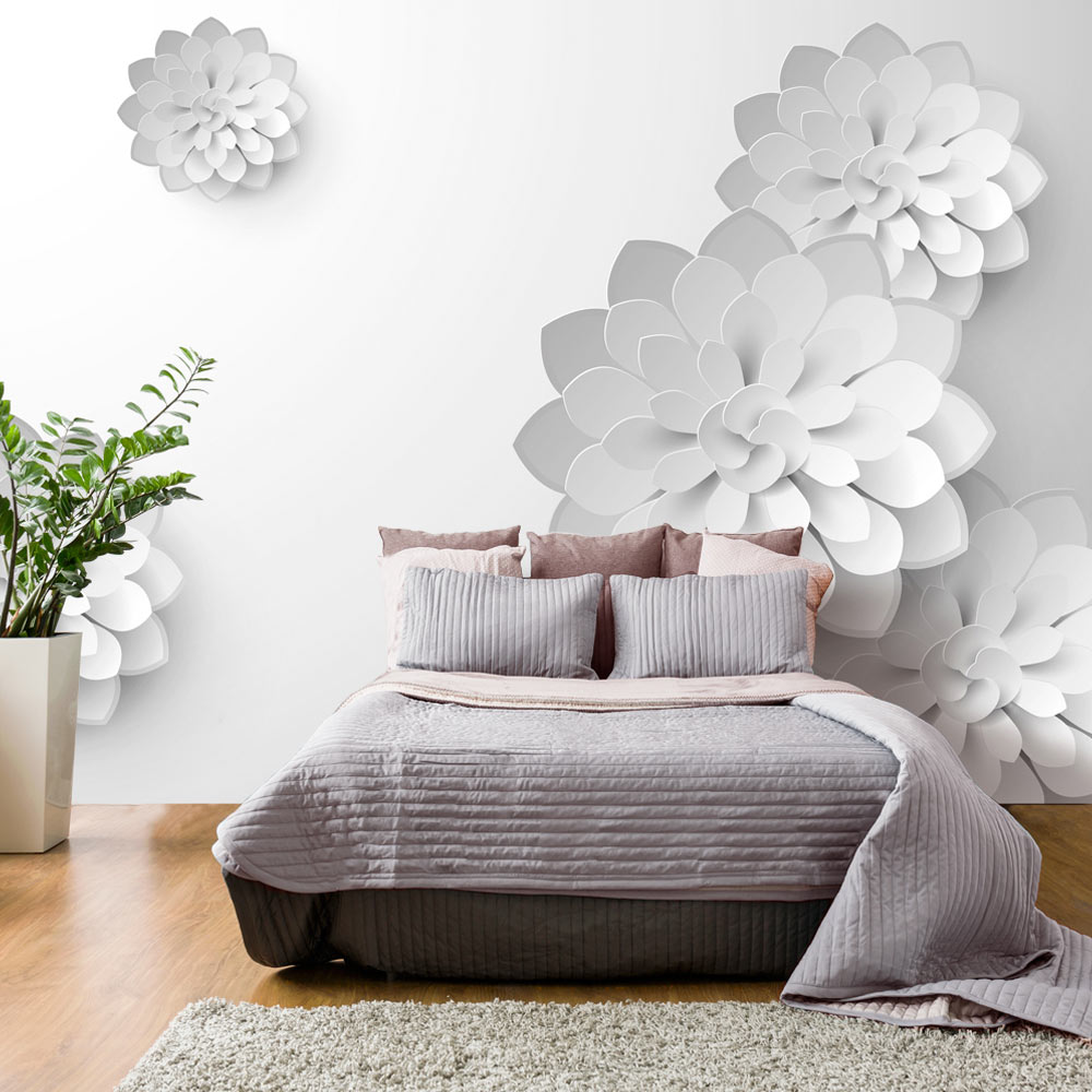 Fototapeta - White Garden 250x175
