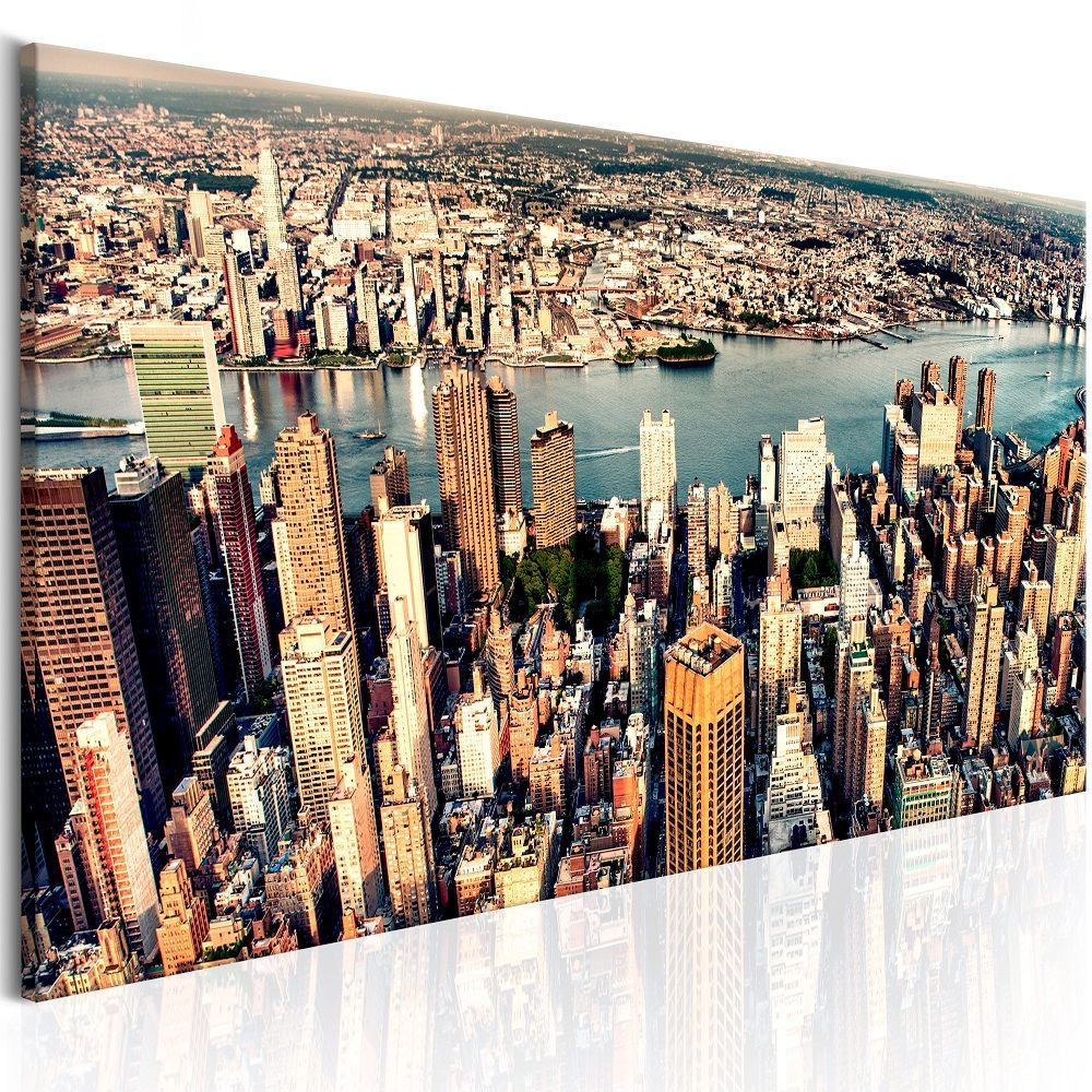 Obraz - Panorama of New York 150x50
