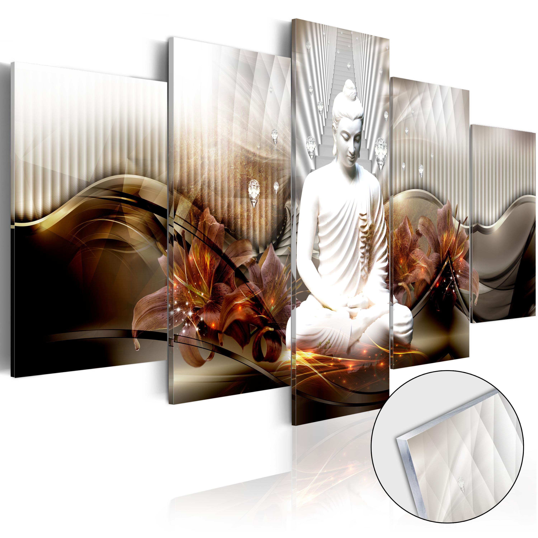 Obraz na akrylátovém skle - Crystal Calm [Glass] 200x100
