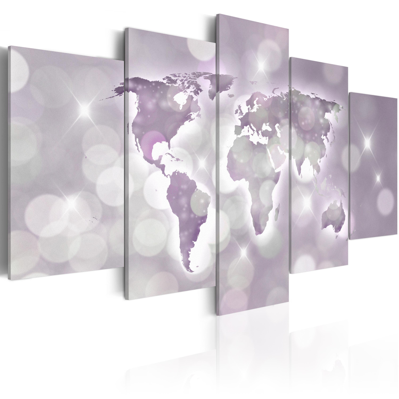 Obraz - Amethyst World 200x100