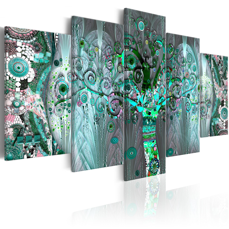 Obraz - Mosaic Tree 100x50