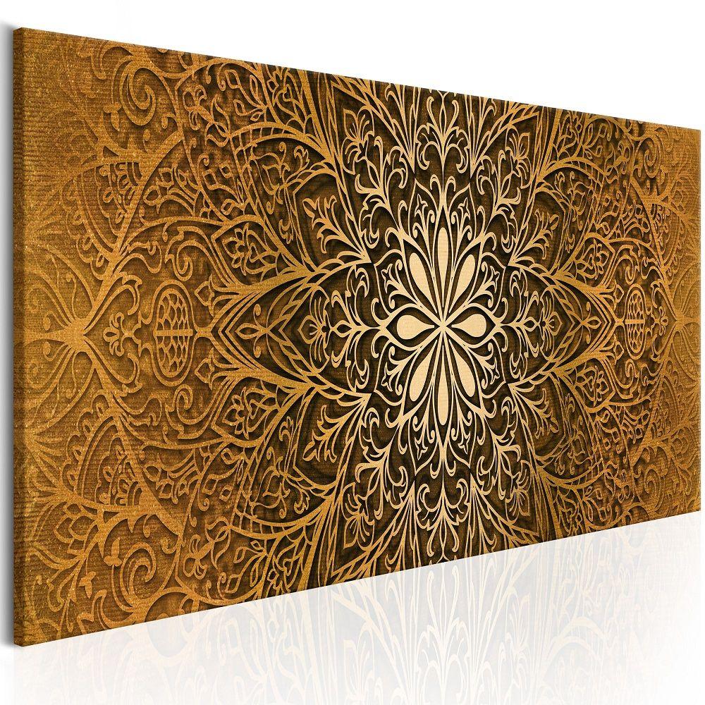 Obraz - Golden Finesse 120x40