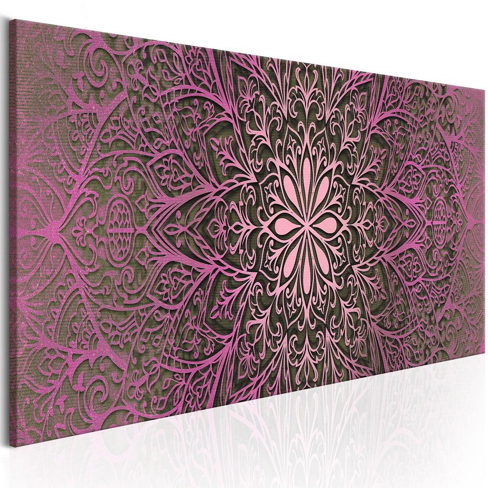 Obraz - Pink Sophistication 135x45